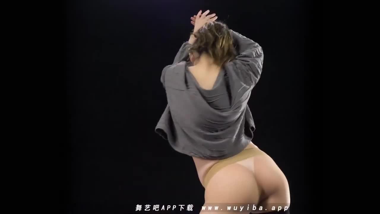 Sexy Dance 依依 肉色絲襪+白色小丁 激情澎湃美臀搖 (橫屏)