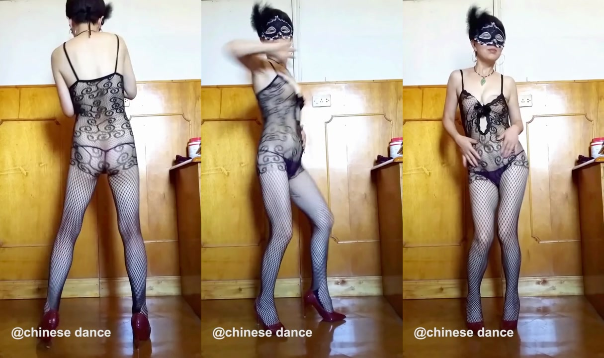 陈静丝袜舞蹈01 chinese sexy stockings dance chenjing